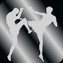 Mixed martial arts (mma). icon