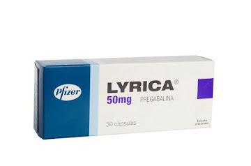 LYRICA 50mg Cápsulas   Caja x30Cap. PFIZER Pregabalina