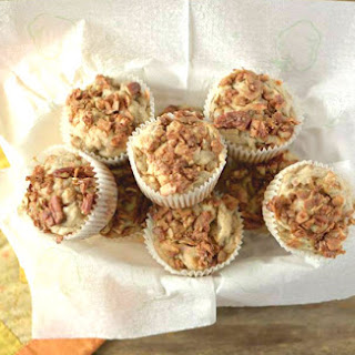 Toasted Coconut and Pecan Streusel Muffins