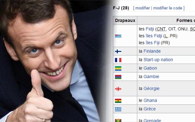 Macron Start-up nation