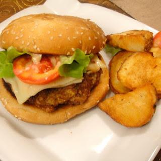 Shrimp Burger- Queen of Burgers.