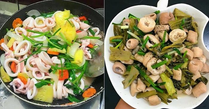 Mách mẹ 20 công thức nấu các món xào đơn giản, thơm ngon