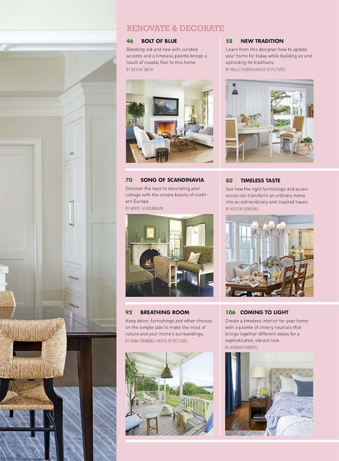 Cottages bungalow android apps on google play for Cottage design magazine