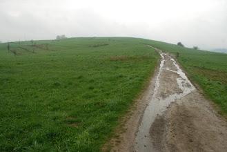 Photo: idziemy czerwonym szlakiem...