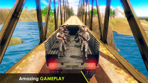 Army Truck Driving 3D Simulator Offroad Cargo Duty apkpoly screenshots 6