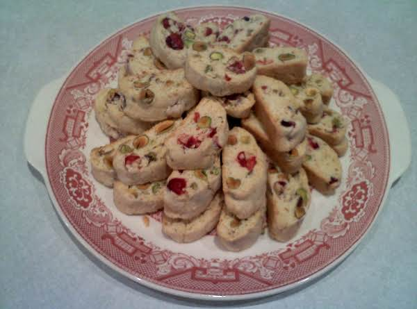 Cranberry-pistachio Biscotti Are Always A Holiday Favorite