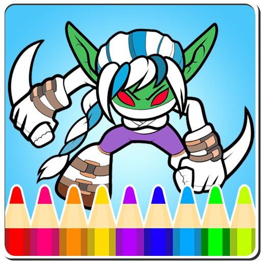 Coloring Pages for Skylanders for Android - APK Download | 512x512