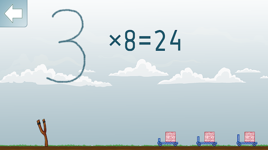 Multiplikation Mathe Spiel Screenshot