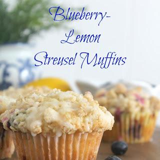 Blueberry-Lemon Streusel Muffins