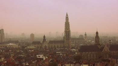 Photo: počasí bylo typicky belgický