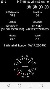 GPS Coordinate Display Pro v6.0