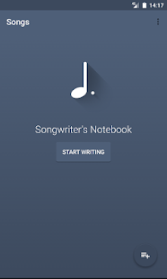 Songwriter's Notebook- screenshot thumbnail