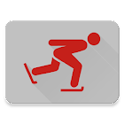 Speed skating times icon