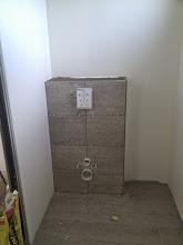 Photo: wc achterwand