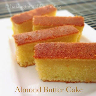 Super Moist Almond Butter Cake.