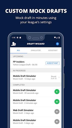 Fantasy Football Draft Wizard screenshot 1