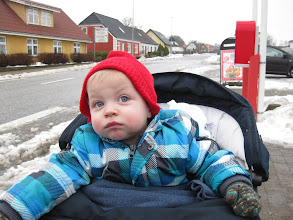 Photo: Mikkel var noget skeptisk over at skulle deltage :)