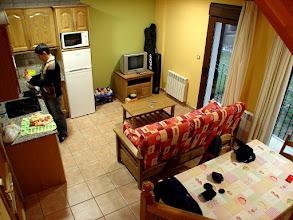 Photo: Cocina-Salón del apartamento.