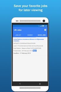 UN Jobs- screenshot thumbnail