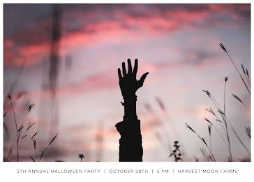 Halloween Hayride - Halloween template