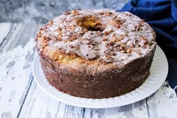 Sour Cream Coffee Cake -My Favorite!