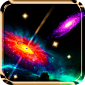 Galaxy 3D Live Wallpaper