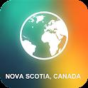 Nova Scotia, Canada Map icon