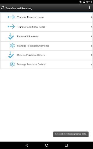 IBM Maximo Transfers-Receiving for PC