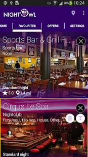 Night Owl Nightlife Guide- screenshot thumbnail