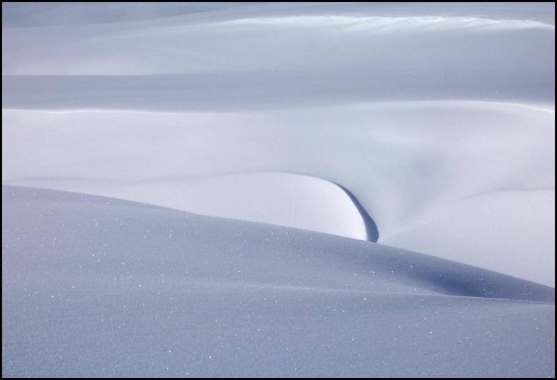 Il vento e la neve di lucaldera