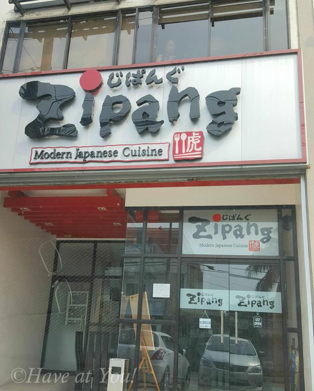 Zipang storefront