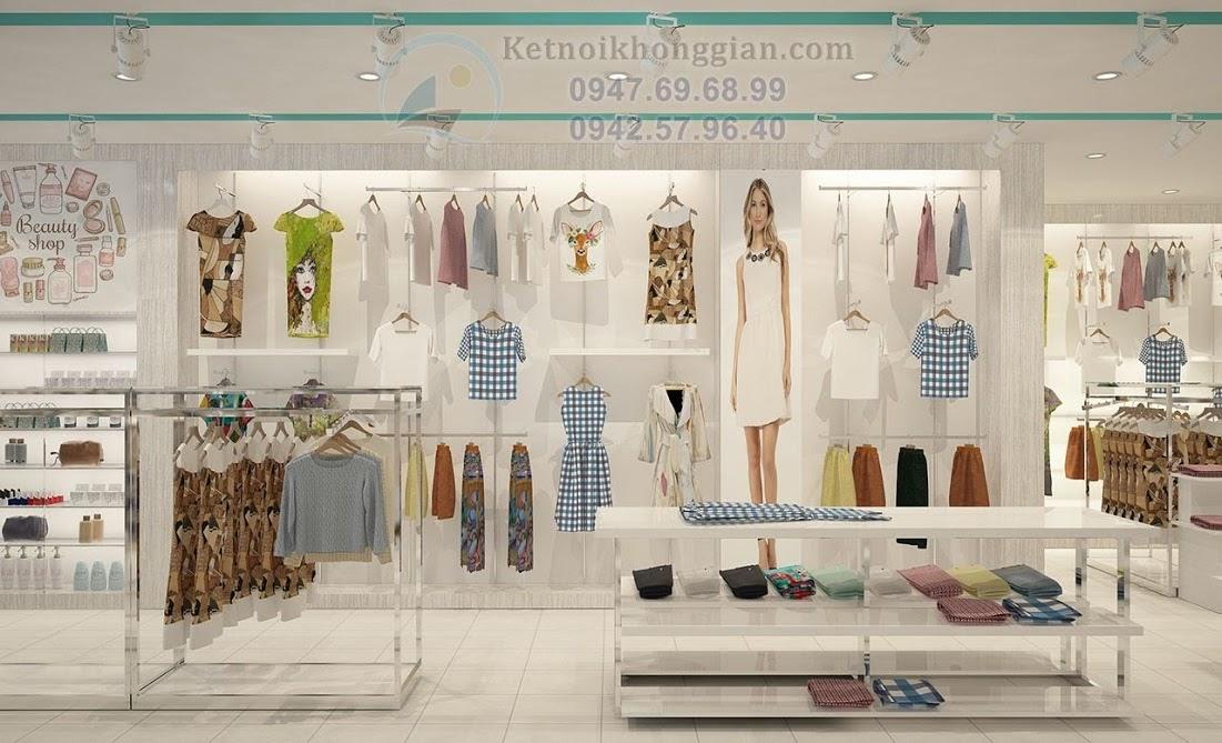 thiết kế shop thời trang nam nữ chất lượng cao