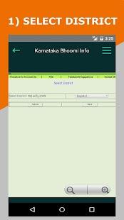 Karnataka Bhoomi Land Info - náhled