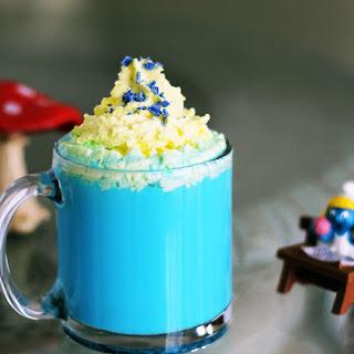 Vanilla Smurfette Blue Drink Recipe for Smurf Fans.