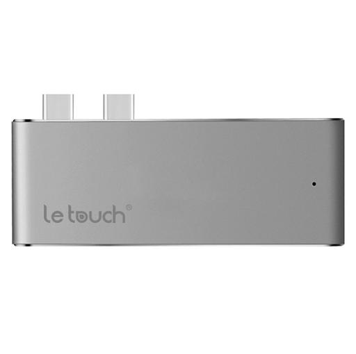 Bộ chuyển đổi LeTouch Dual USB-C HUB Pro-1
