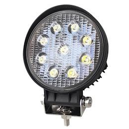 Proiector LED BAR, OFF ROAD, rotund, 9 LED, 27 W, 11 cm