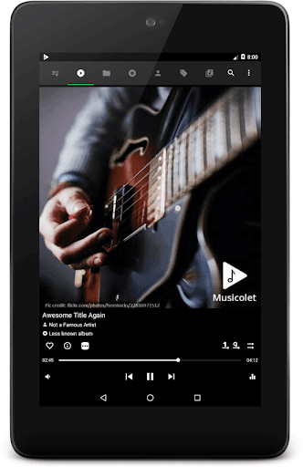 Musicolet Music Player [Free, No ads] screenshot 11