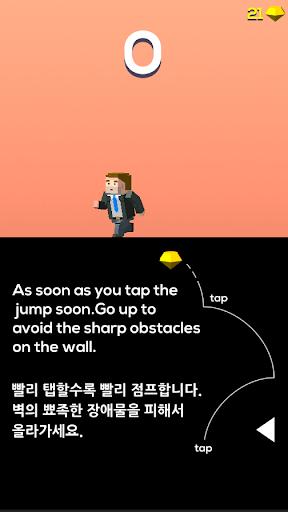 Climb the walls - Funy Jump
