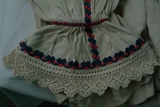 Photo: Oplećak sa plavom koncem Kék hímzéses női ing