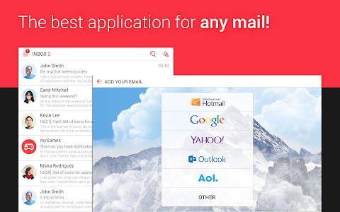 myMail—Free Email Application v1.2.0.4639