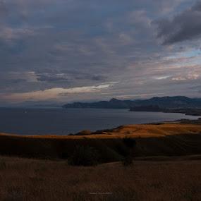 Sinrise by Владимир Агруц - Landscapes Sunsets & Sunrises ( black sea, sunrise, seascape, landscape )