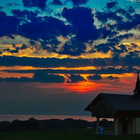 Champeillant. by Renaud Igor - Landscapes Sunsets & Sunrises