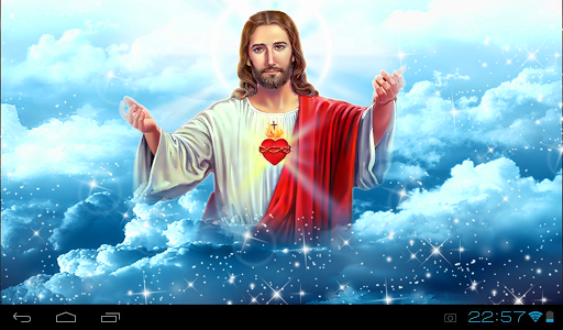 Jesus Live Wallpaper