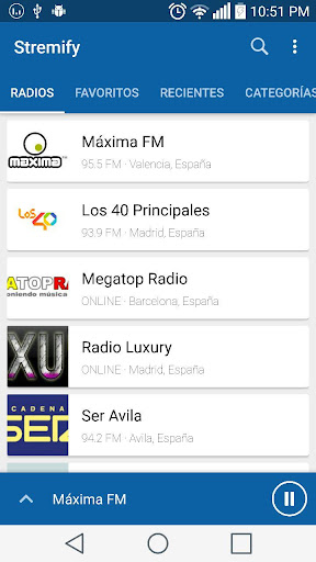 Stremify - Radio FM Gratis screenshot 1