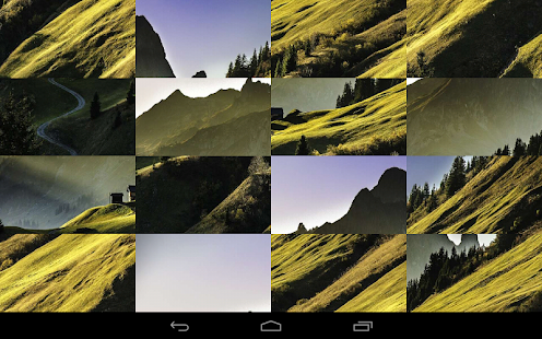 Tile Puzzles · Mountains- screenshot thumbnail
