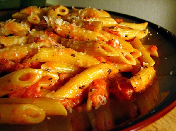 Penne With Spicy Tomato Sauce Recipe