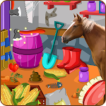 Clean up horse farm