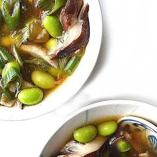 Miso Mushroom Soup.