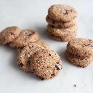 Salted Almond Chocolate Chunk Cookies.