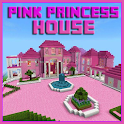 Map Pink Princess House for MCPE icon